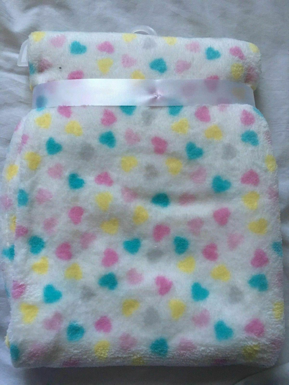 Baby Girls Plush Shower Gift Soft Infant Blankie Bear L12