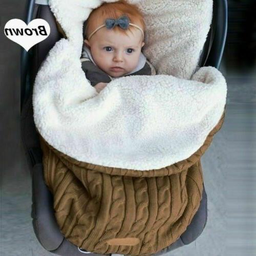 Baby Swaddle Wrap Warm Pushchair Stroller Sleeping