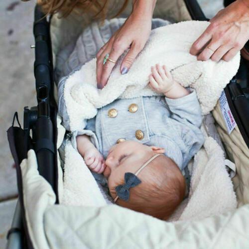Baby Wrap Blanket Pushchair Stroller