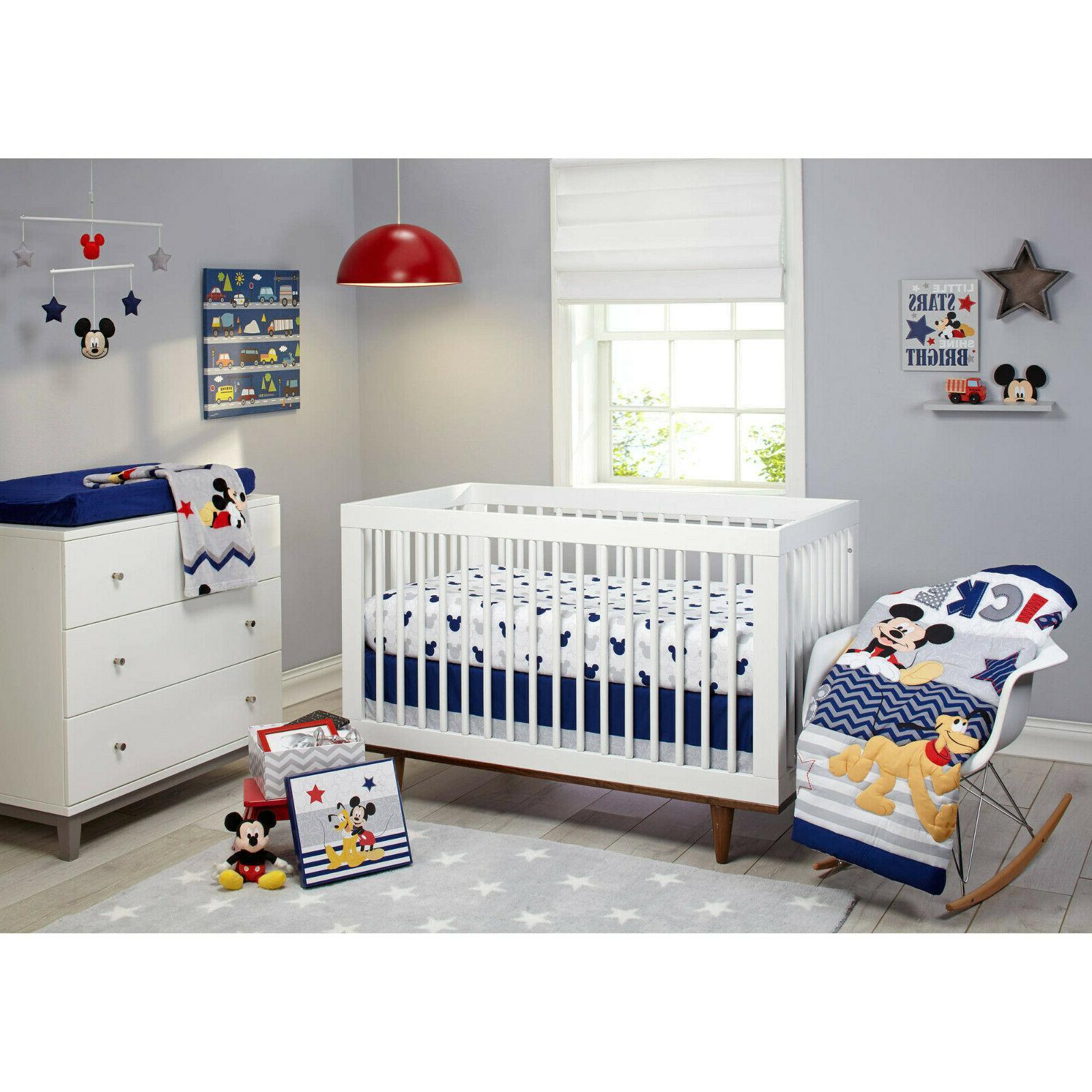 baby mickey mouse crib bedding