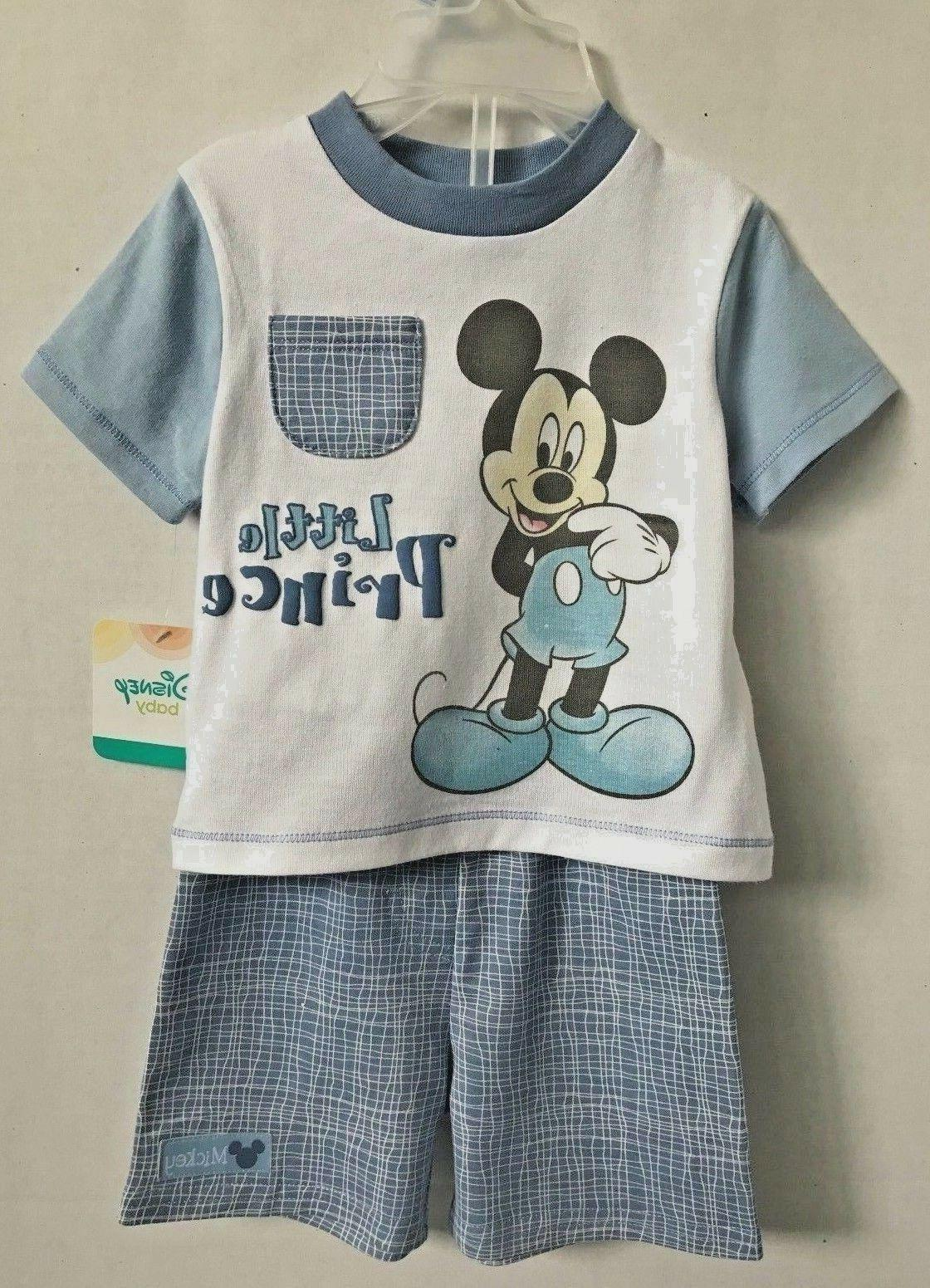 baby mickey mouse infant boys 2 piece
