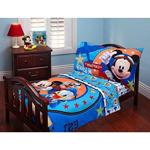 promo code ab4d8 a9481 Baby Mickey Mouse Toddler Bed Set Comforter Top