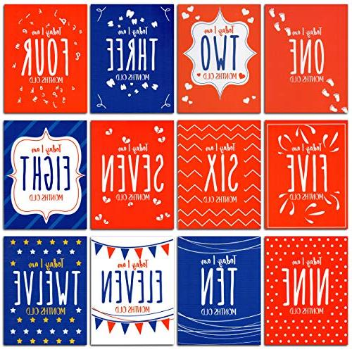 Baby Milestone – Month Child – Baby Blanket – Multifunctional 12 Milestone Cards – Hypoallergenic Fabric