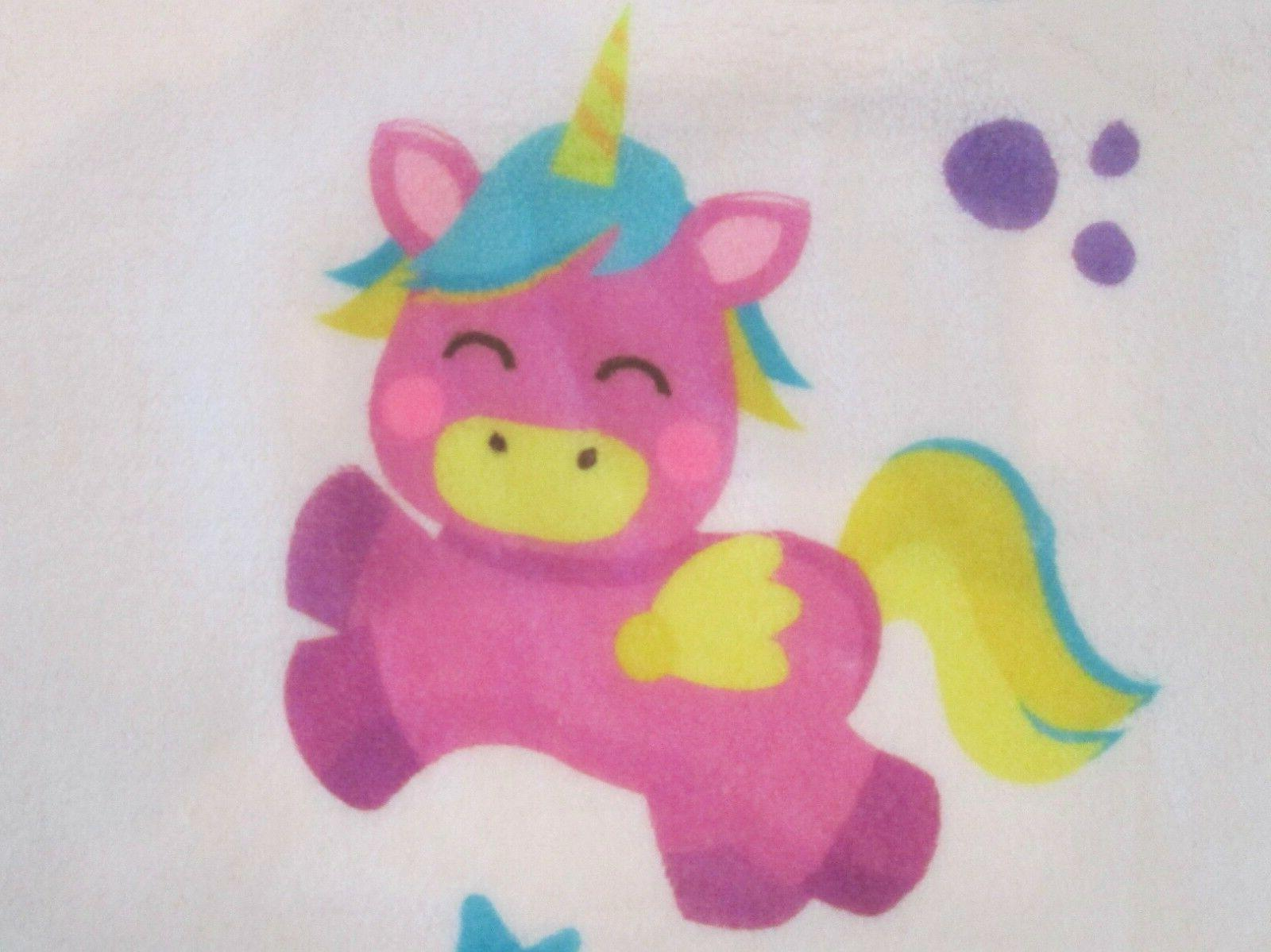 monthly fleece photo unicorn design 2 set.