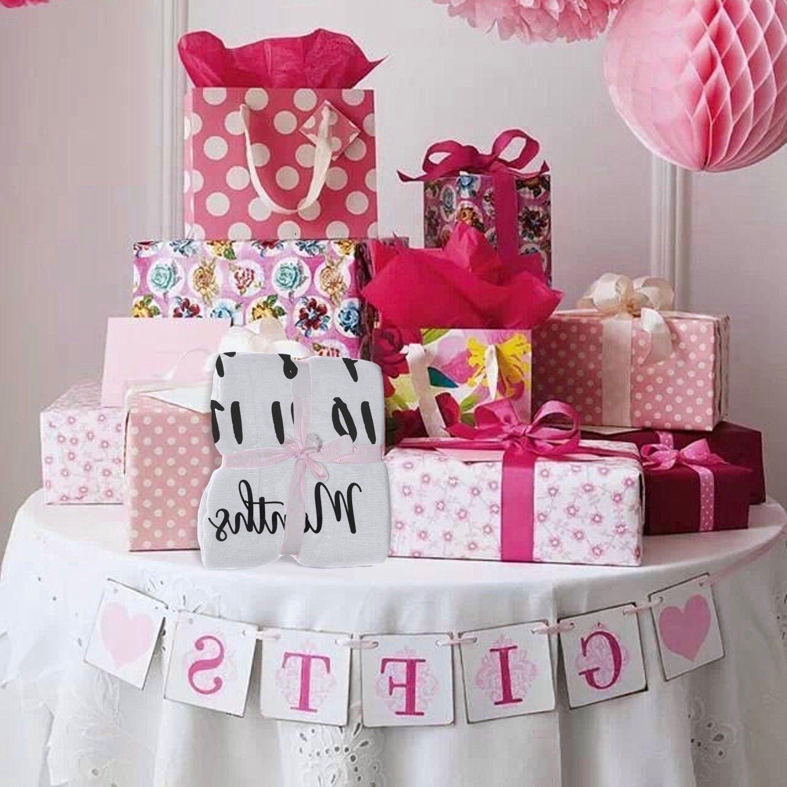 Baby Milestone Blanket | Newborn Boy Girl Mom Baby Shower Gifts