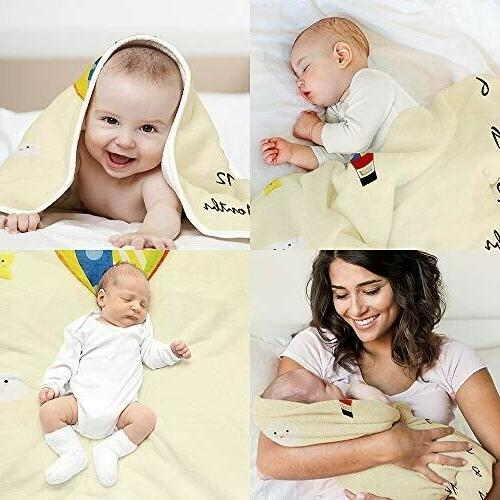 Baby Milestone Photography Bed Boys