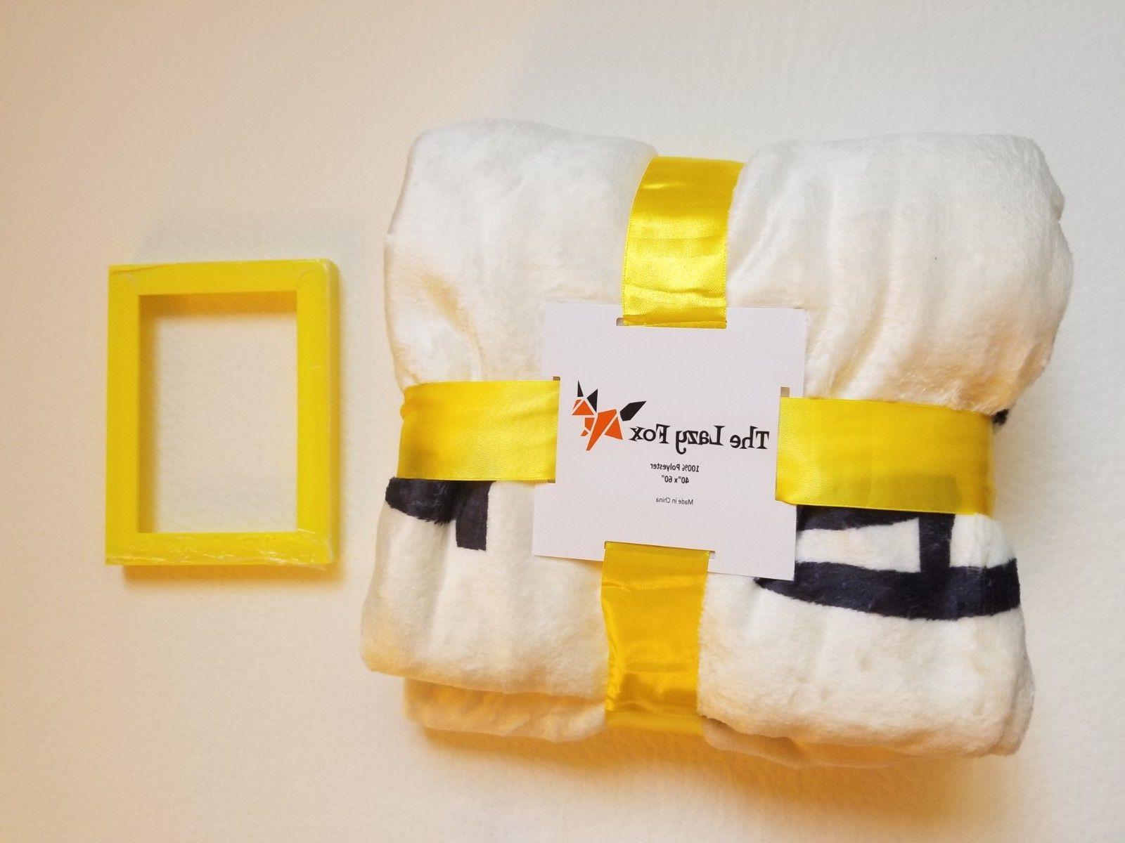 baby monthly milestone blanket soft fleece