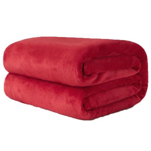 Baby Newborn Soft Fleece Infant Blanket Warm Crib Moses Basket Cashmere US