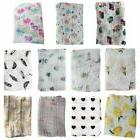 Baby Newborn Swaddle Blanket Muslin Wrap Infant Towel Sleepi