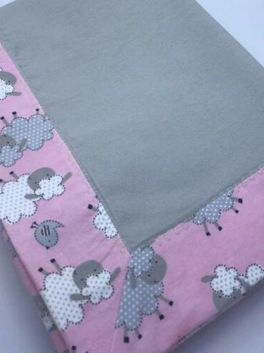 Baby Swaddle Blanket - Sweet Baby Sheep