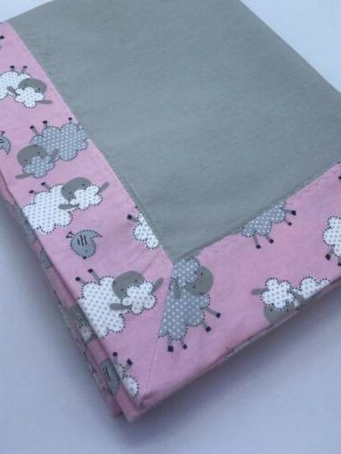 Baby Swaddle Blanket Sweet Baby Sheep