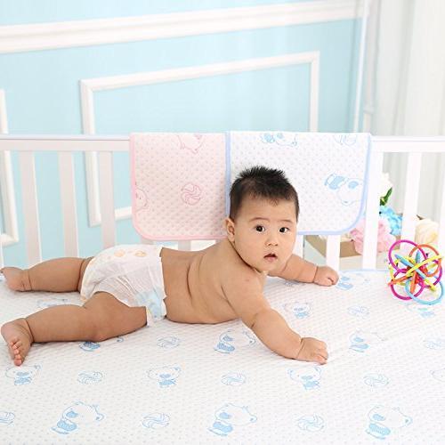 baby reusable waterproof underpad bed