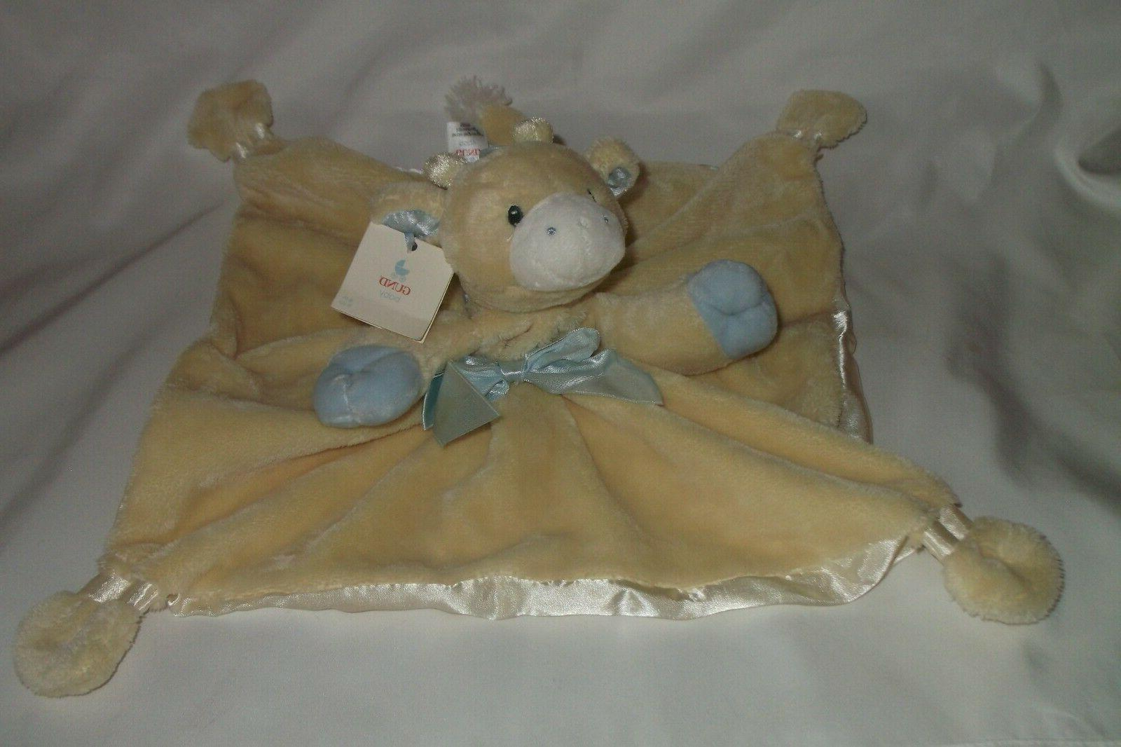 Gund Baby Satineesnug Tender Beginnings Blanket NEW