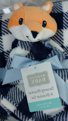 HUDSON Blanket Fox Checker NEW