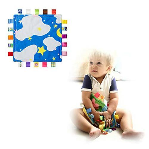 Baby Lovey Baby Blanket Ribbon Sensory