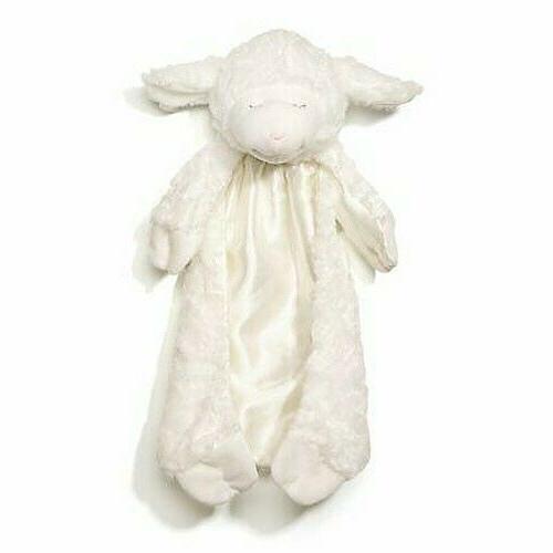 Baby GUND Winky Cozy Lamb Huggybuddy Stuffed Animal Plush Bl