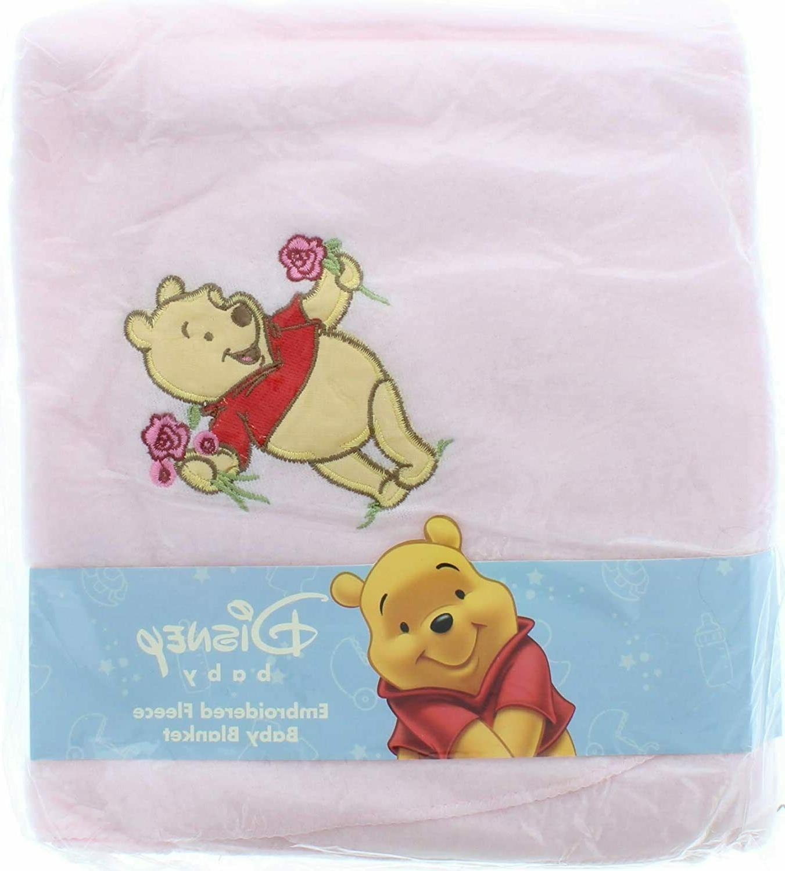 baby winnie pooh fleece blanket