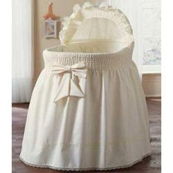 BabyDoll Bedding Precious Bassinet Liner/Skirt & Hood Color