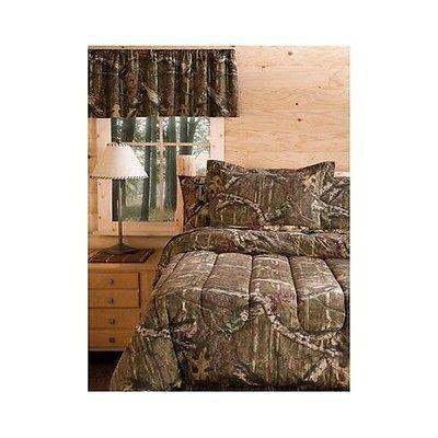Bedding Comforter Set Mossy Oak Camouflage Queen Size Bed in