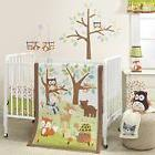 Bedding Set Baby Crib Friendly Forest Woodland 3 pcs Owl Tur