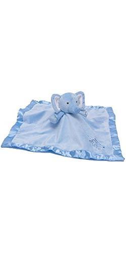 Stepping Stones Blankie - Blue Elephant