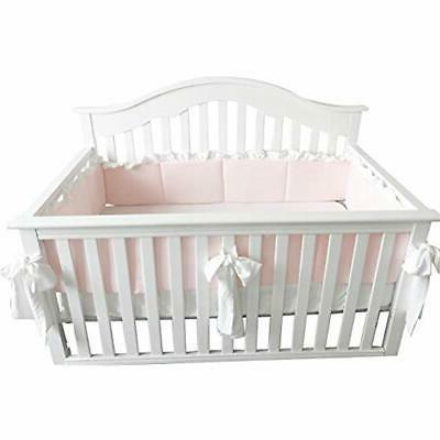 Blush Bedding Sets Coral Pink Ruffle Crib Baby Girl Blanket