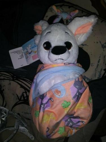 bolt baby plush with blanket pouch