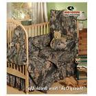 Boys Mossy Oak Camo  Bedding Crib Set Comforter Bumper Pad S