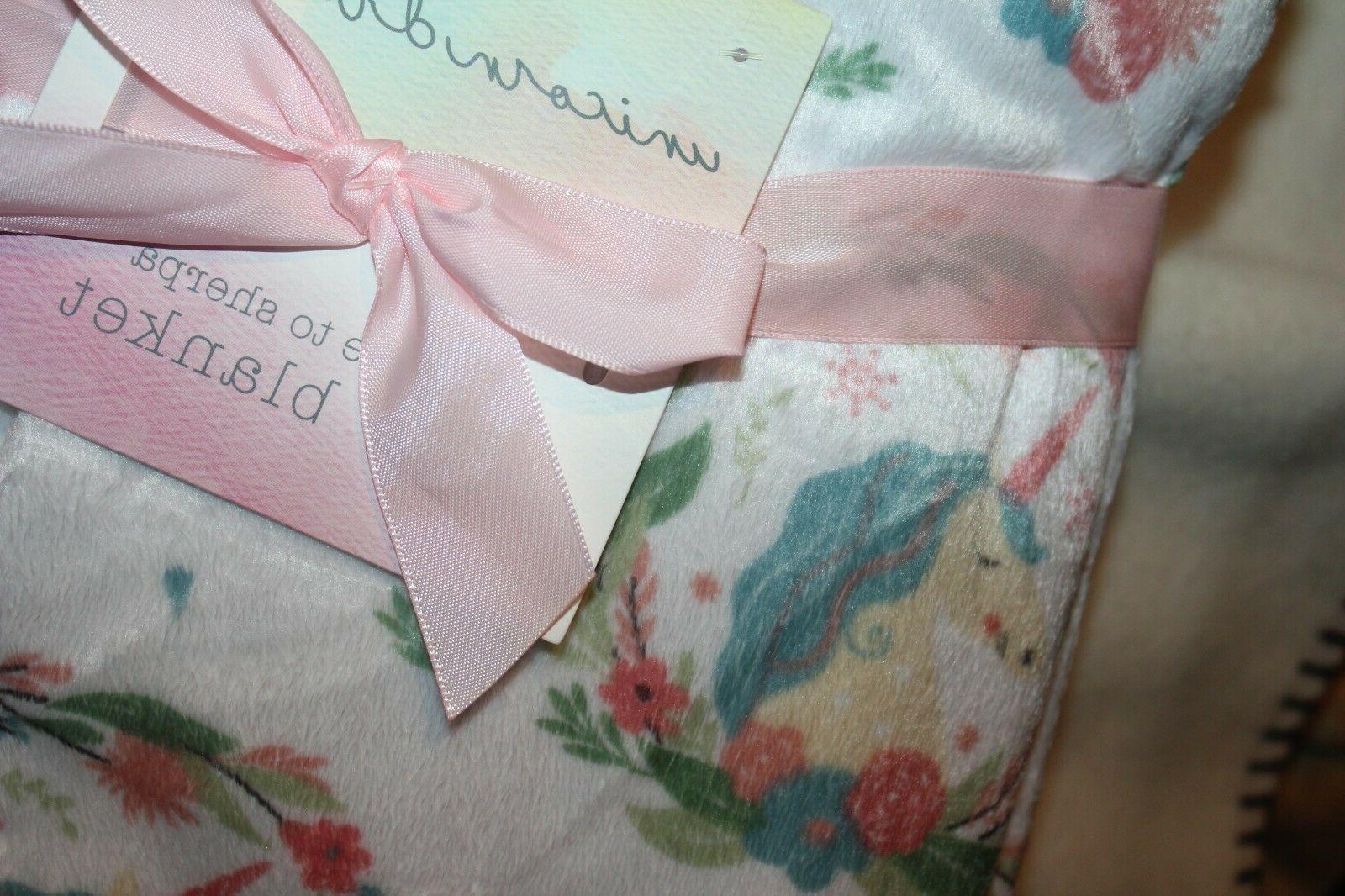 UNICORN DREAMS BrandBABY 30x40 100% NWT soft colors!