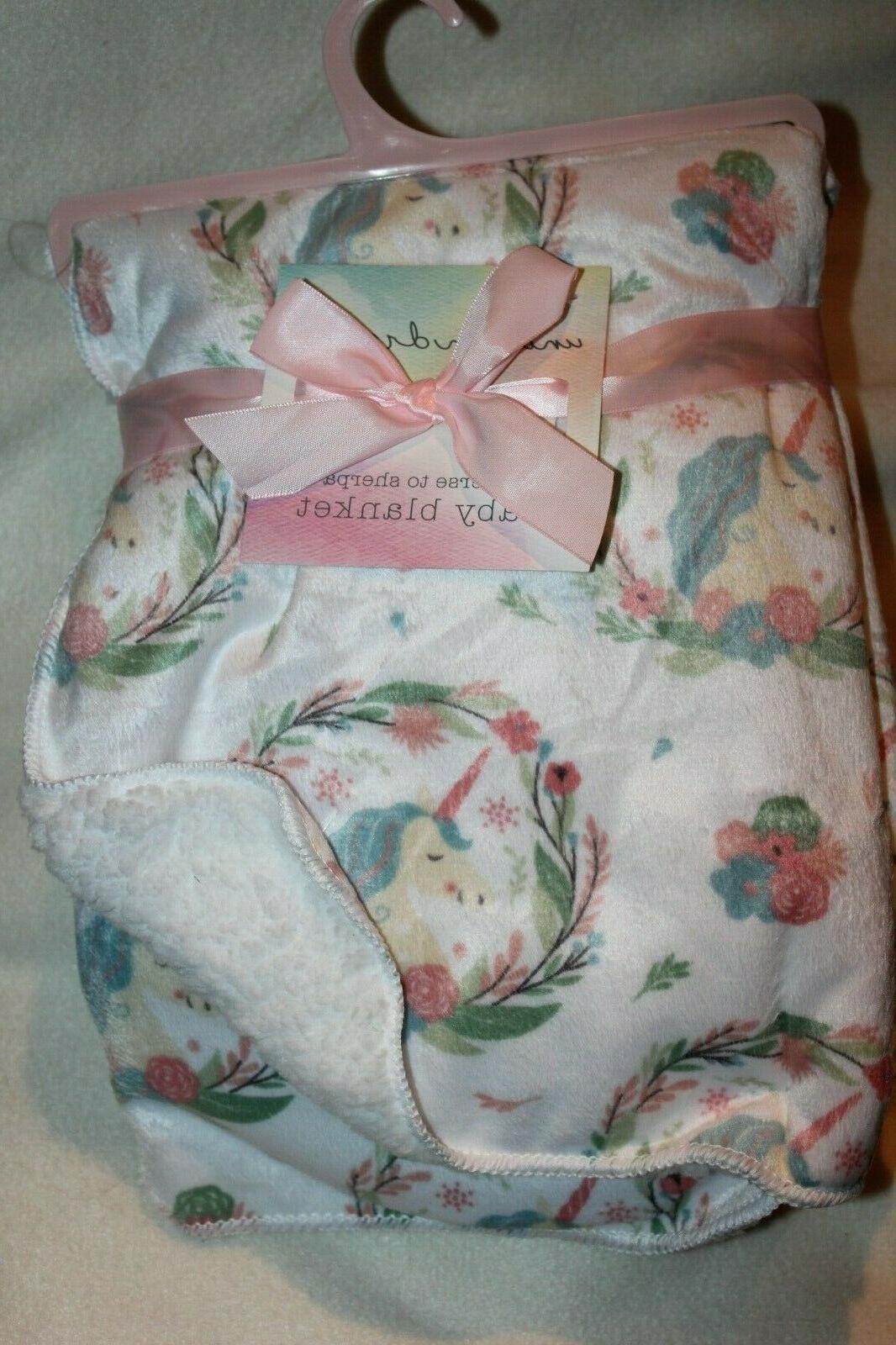 brand baby blanket 30x40 100 percent poly