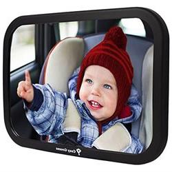 Cozy Greens Baby Car Mirror Back Seat Rear-facing Infant In