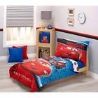 Disney Cars Team Lightening 4-Piece TODDLER BOYS BEDDING SET