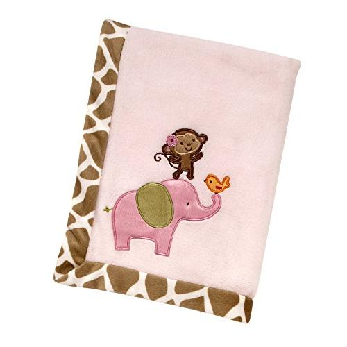 Carter's - Jungle Collection Applique Baby Blanket