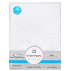Carter's Keep Me Dry 2 Pack Quilted Pad - 18 x 27