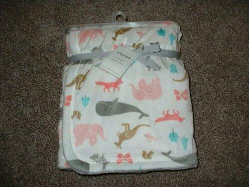 Carter's Baby Girl Cozy Animal Fleece Fox NWT