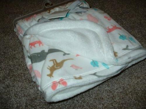 Carter's Animal Fleece NWT