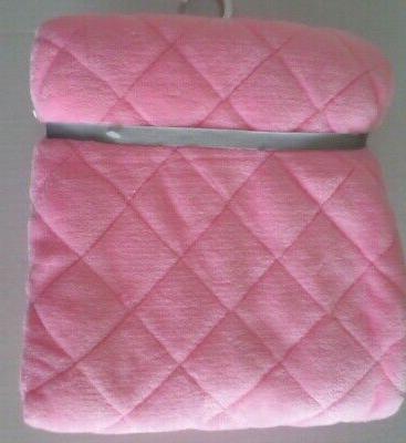 Carter's Baby Plush Diamond Design Blanket 2 Layer Pink