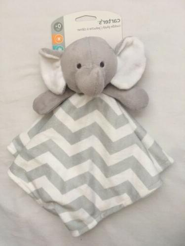 Carter's Elephant Baby Security Blanket, Shower, Gift, Boys,