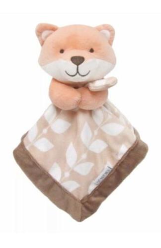 carter s fox tan brown security blanket