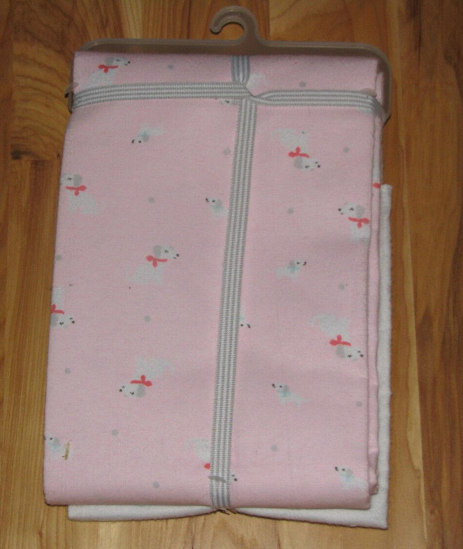 CARTERS FLANNEL GIRL PINK