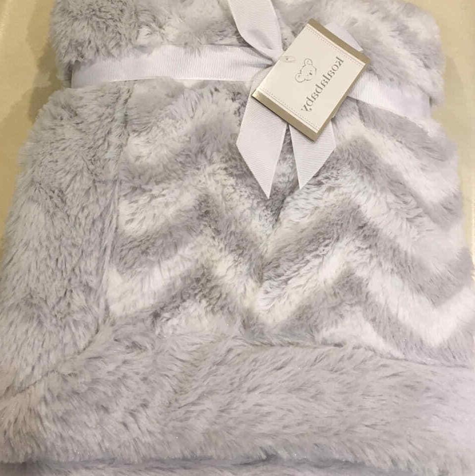 Koala Chevron Gray Soft