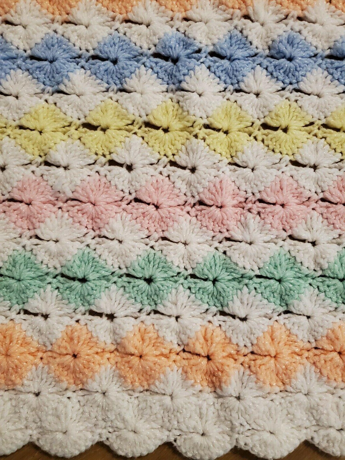 Choice NEW Handmade Crocheted Baby Blankets Girl or