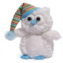 GUND Christmas Snowfall Owl