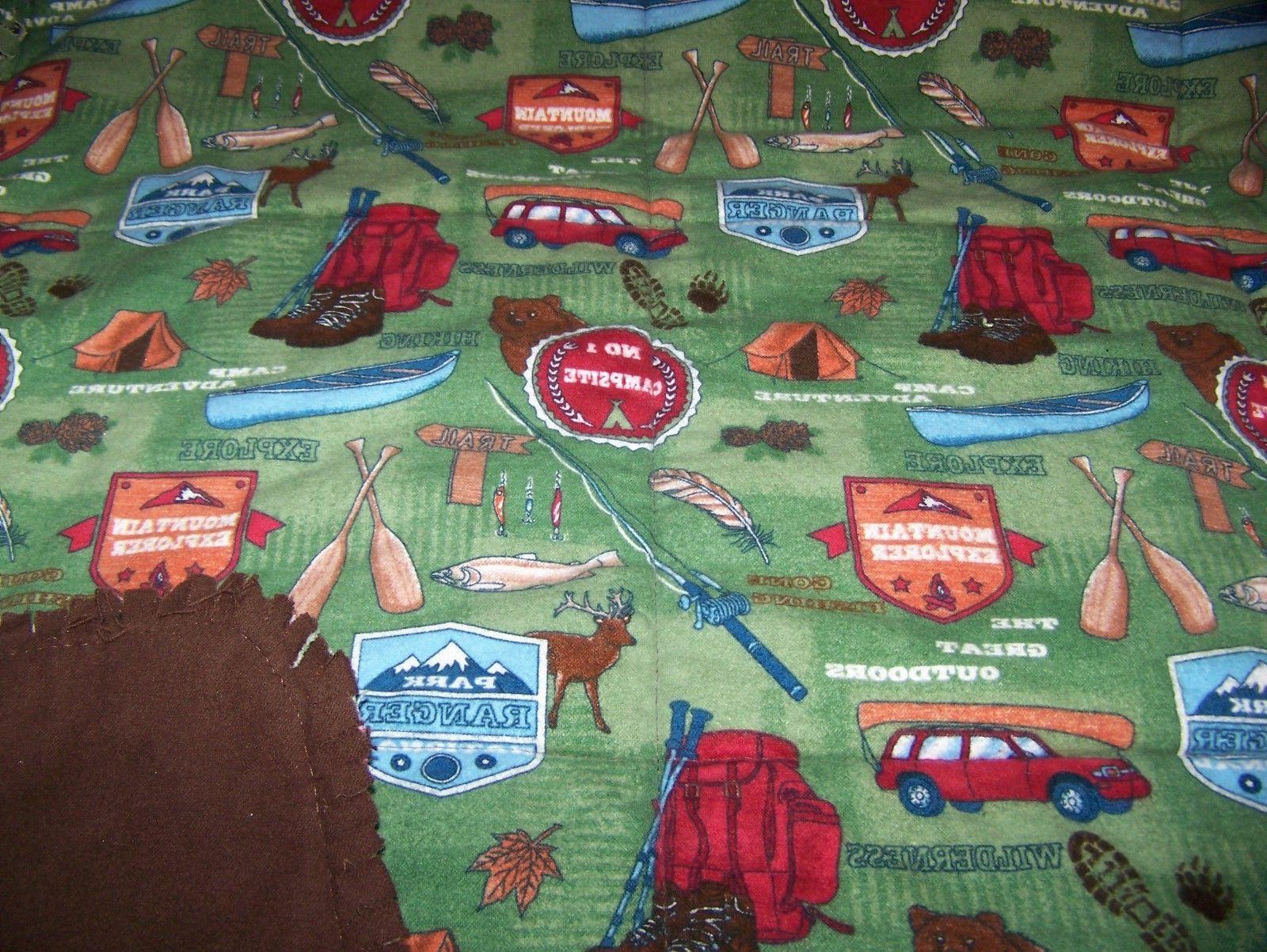 clearance handmade rag baby blanket 36 x36