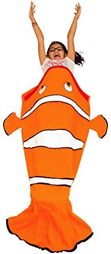 mada Clown Fish Tail Blanket For Children - Comfortable & So