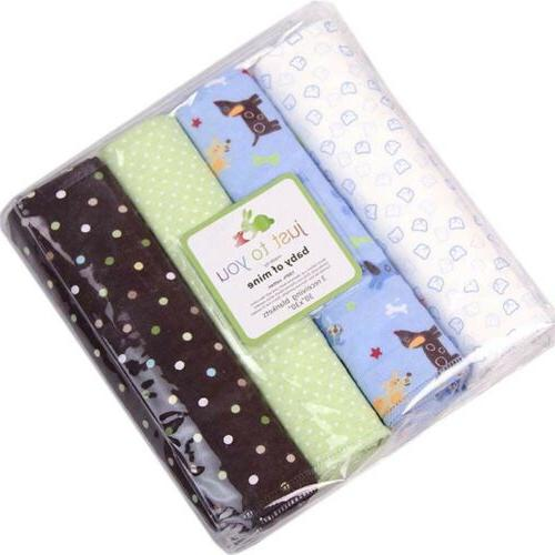 Cotton Swaddles Baby Crib Sets