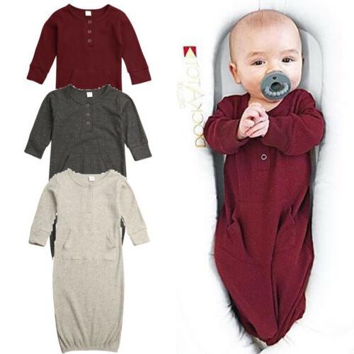 Newborn Girl Cotton Wrap Blanket Sleeping Bag Sleepsack