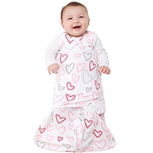 Halo Sleepsack Swaddle Wearable Modern Pink