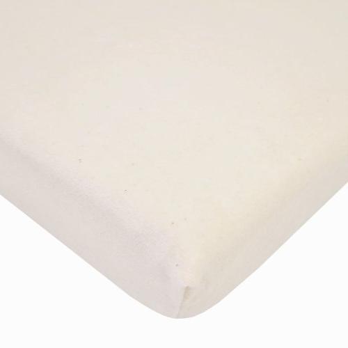 cotton velour crib sheet