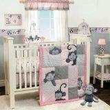 Bedtime Originals 3 Piece Crib Bedding Set, Pinkie by Bedtim
